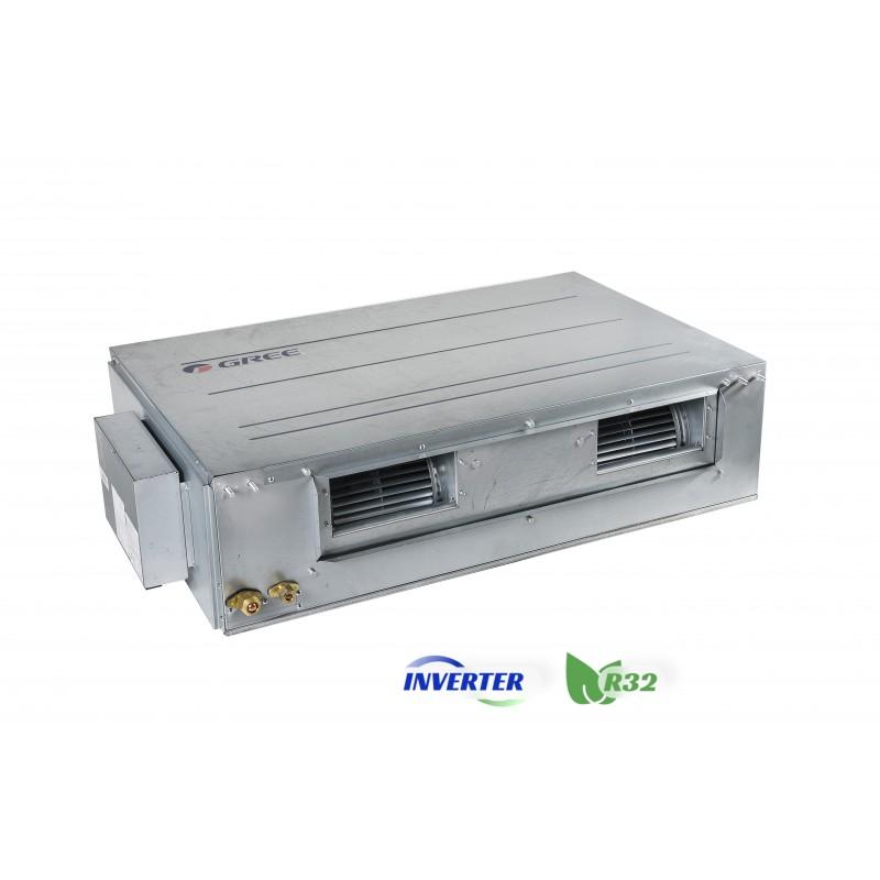 Канальний кондиціонер Gree серії U-MATCH Inverter R32 GUD140PHS/A-T/GUD140W/NhA-X