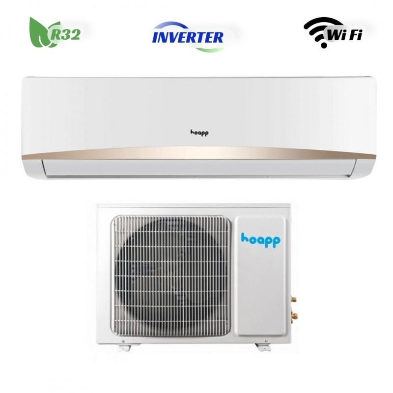 Кондицiонер Hoapp Luna inverter R32  HSK-LA38VAW/HMK-LA38VA (Wi-Fi)