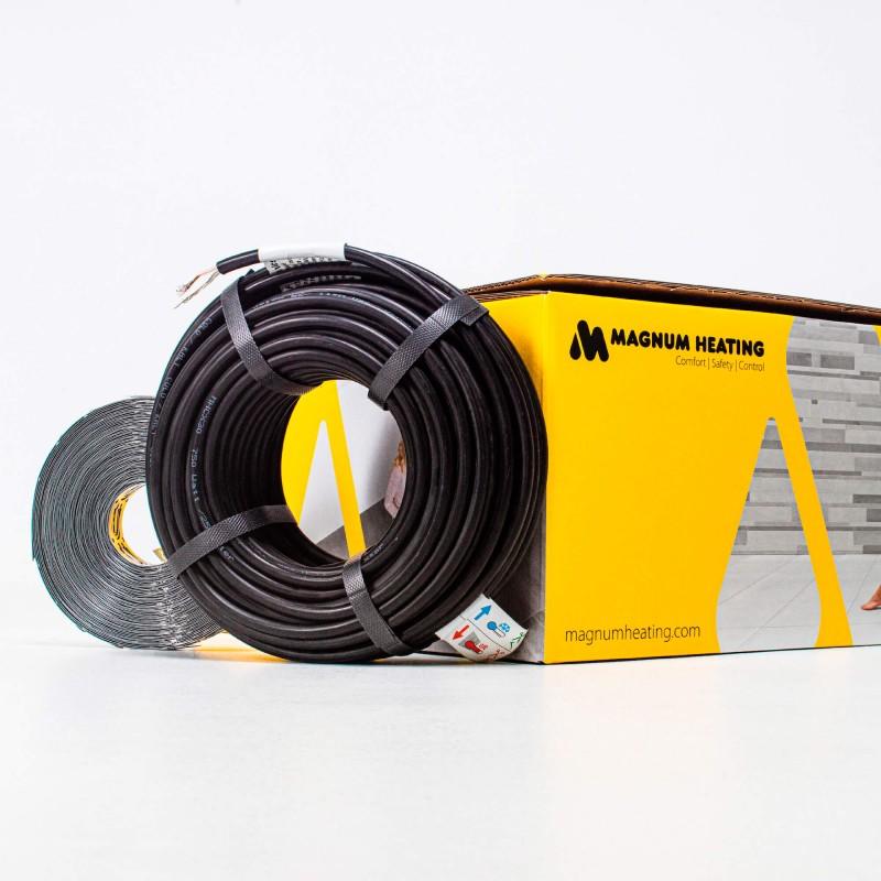 Комплект нагревательного кабеля двужильного MAGNUM Cable C&F HC 30/1500/50