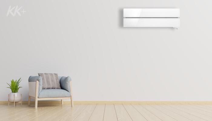Кондиціонер Mitsubishi Electric Premium Inverter MSZ-LN білий - ціна в Києві, купити в Києві, монтаж кондиціонера, картинка в інтер'єрі